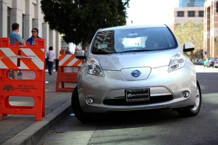 """Nissan LEAF participa en la campaña """"Una experiencia eléctrica- Un mejor viaje"""" en San Francisco"""