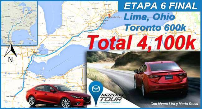 Etapa 6 Mazda3 Tour.