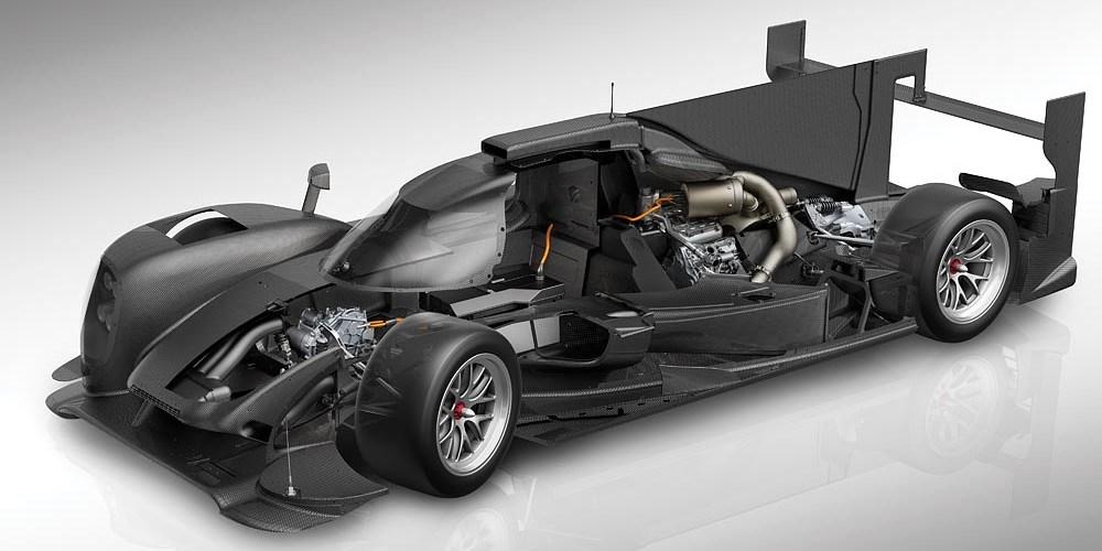 Porsche Hybrid listo para Le Mans