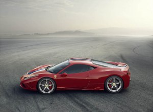 Ferrari 458 Speciale side