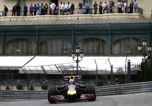 Infiniti Red Bull Racing at the 2014 Monaco Grand Prix