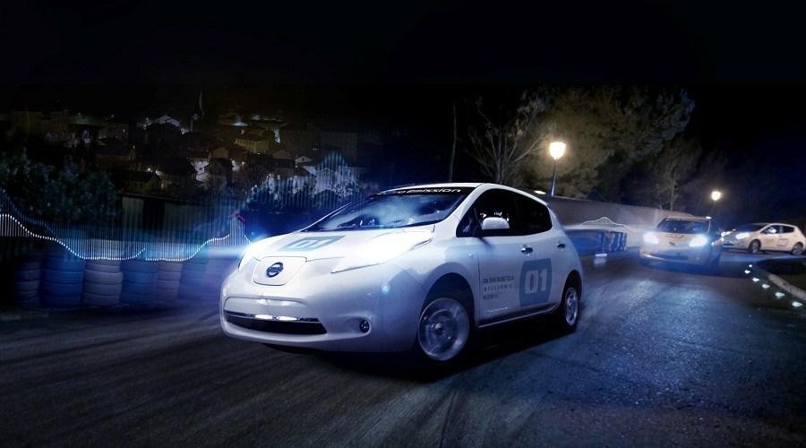 Nissan LEAF celebra el Día Internacional Contra el Ruido