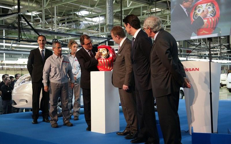 Nissan Barcelona comienza la producción de su segundo vehículo 100 por ciento eléctrico: e-NV200