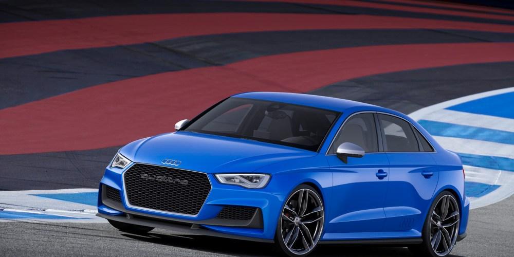 Audi A3 Clubsport quattro Concept con 525 hp