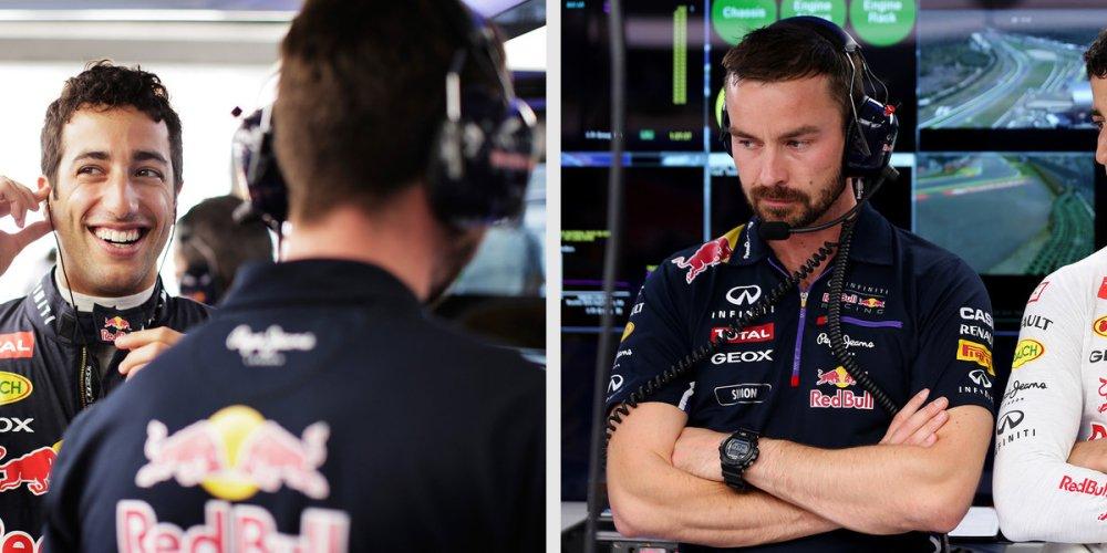 Rennie, ingenierio de Infiniti Red Bull Racing habla sobre su experiencia con Ricciardo