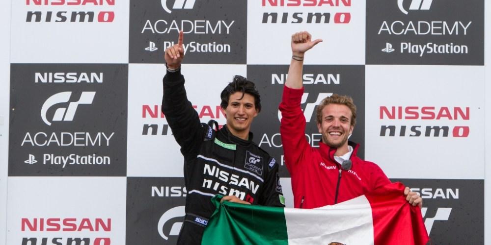 México triunfa en Nissan GT Academy