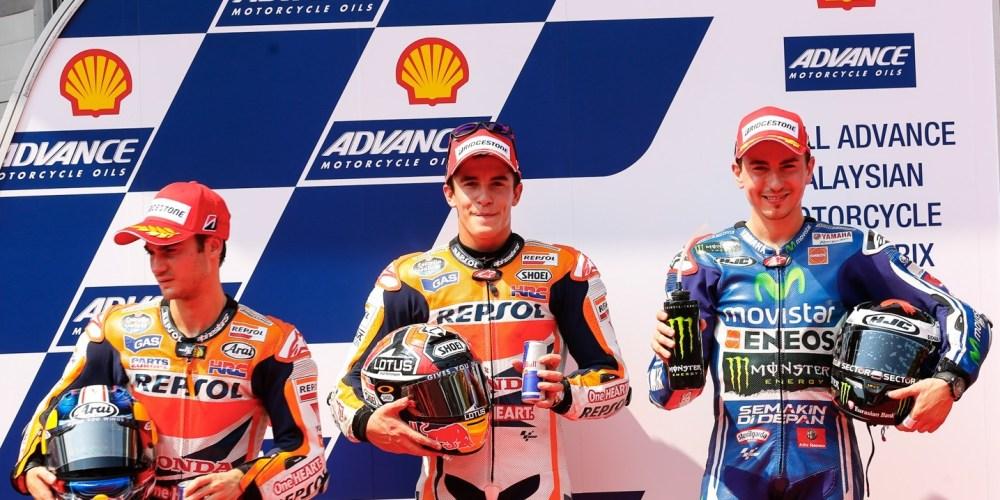 Márquez se exhibe en la Q2 de Sepang y firma su 13ª pole del año