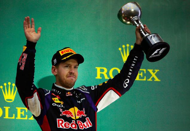 Infiniti Red Bull Racing toma Japón