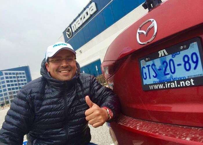 Miguel Barbeyto Senior Director de Mazda Motor México