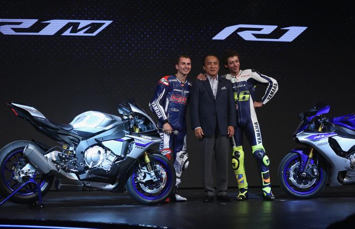 Dos modelos superdeportivos se unen a la gama Yamaha Motor