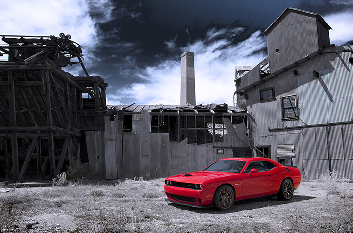 2015 Dodge Challenger SRT with the HEMI® Hellcat