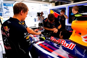 xxxx during previews ahead of the Brazilian Formula One Grand Prix at Autodromo Jose Carlos Pace on November 6, 2014 in Sao Paulo, Brazil.