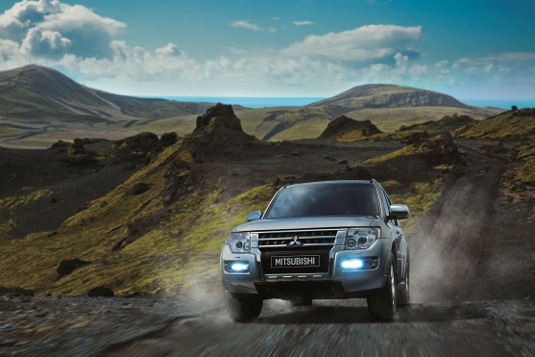 Las capacidades de la nueva Mitsubishi Montero 2015 te permitirán desafiar diferentes terrenos.