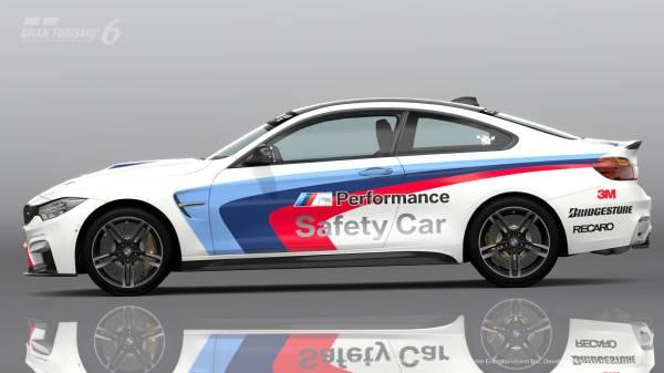 BMW M4, nuevo safety car para el Gran Turismo®6 de Playstation