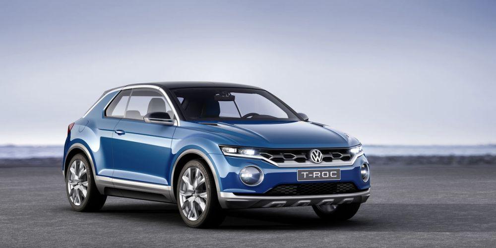 Detroit 2015, VW T-Roc