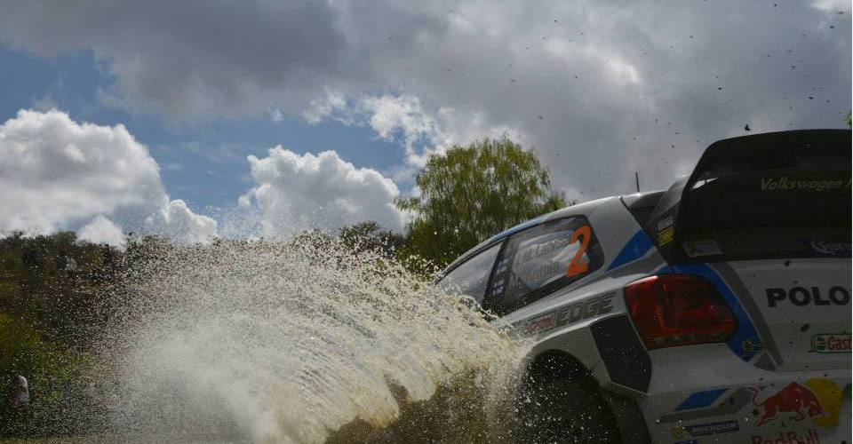 Los pilotos de Volkswagen listos para la acción del Rally México