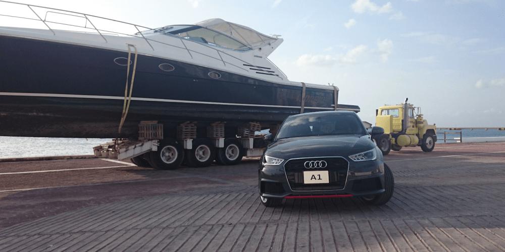 Audi A1 listo para el abordaje