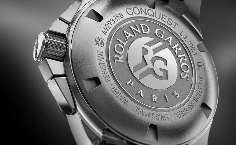 #JuevesDeRelojRacing  – Conquest 1/100, el crono de Roland Garros