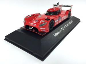NASHVILLE, Tenn. (July 17, 2015) – The highly innovative, completely radical Nissan GT-R LM NISMO racecar didn't win the race at the recent running of the 24 Hours of Le Mans, but it did win the hearts of motorsports enthusiasts worldwide for its efforts. Now a slightly smaller version is making its debut this weekend at the 28th Annual International Z Car Convention (ZCon) hosted by the Z Car Club Association. The new 1/43rd scale mini-car will be available for sale in limited numbers at the yearly meeting of Nissan enthusiasts. It is also on sale, with a suggested retail price of  (USD) at Nissan dealers nationwide.