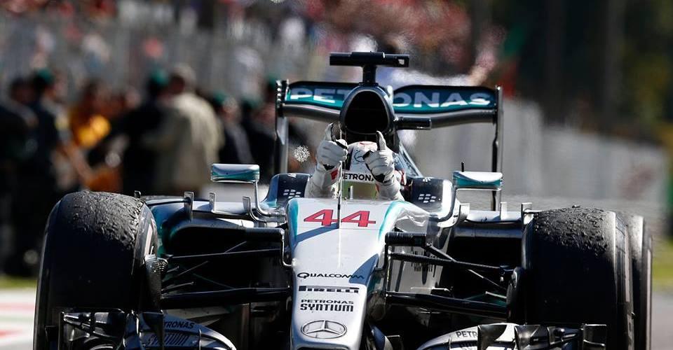 Lewis Hamilton superó a Ferrari en su casa