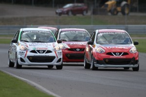 The Nissan Micra Cup in action at the Grand Prix du Canada!