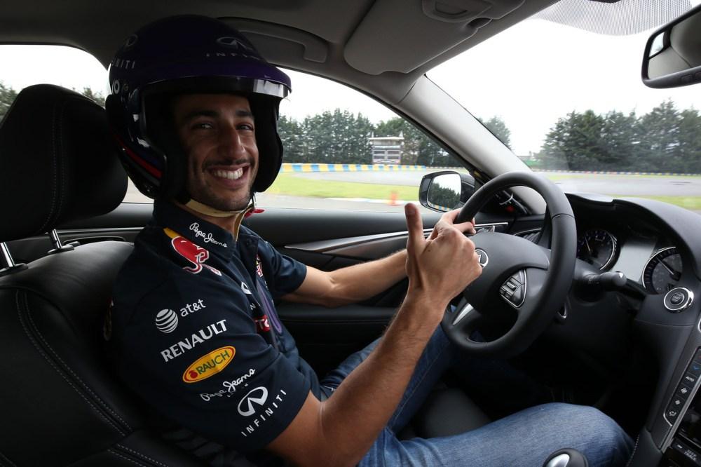 Infiniti Daniel Ricciardo