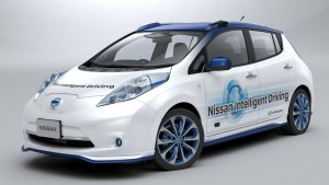 Nissan presenta su vehículo prototipo de conducción autónoma