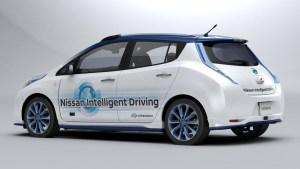 A Nissan carro veículo protótipo pilotado