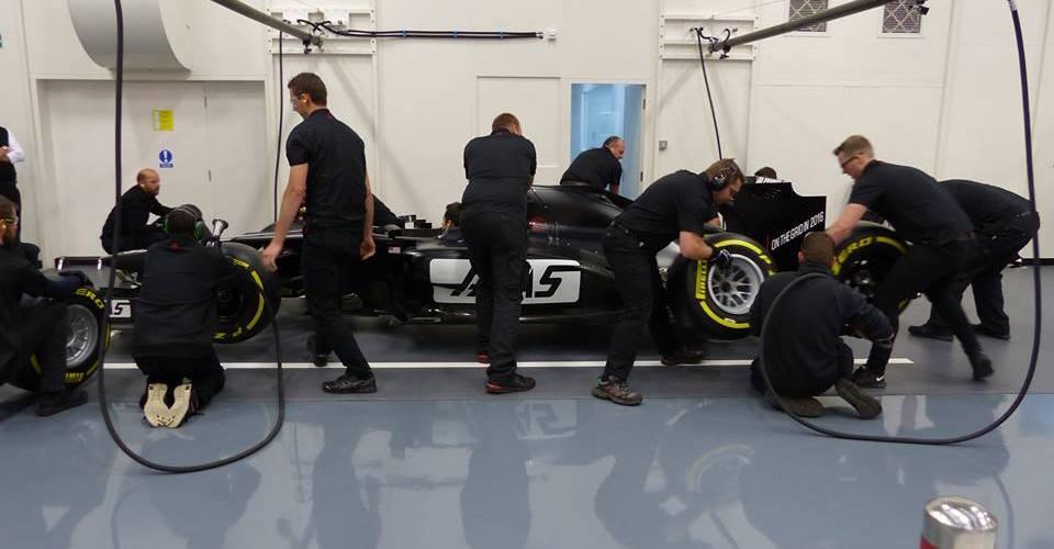 Haas listo para su debut en la Fórmula 1