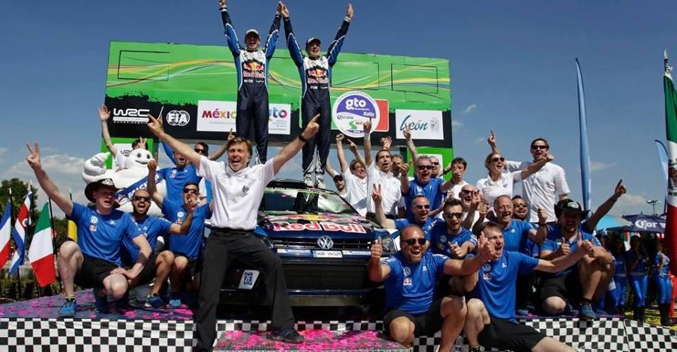 Doblete para Volkswagen en el Rally México