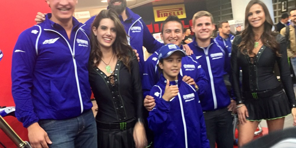 ¡¡¡Arrancamos!!! Yamaha Monster Racing Team