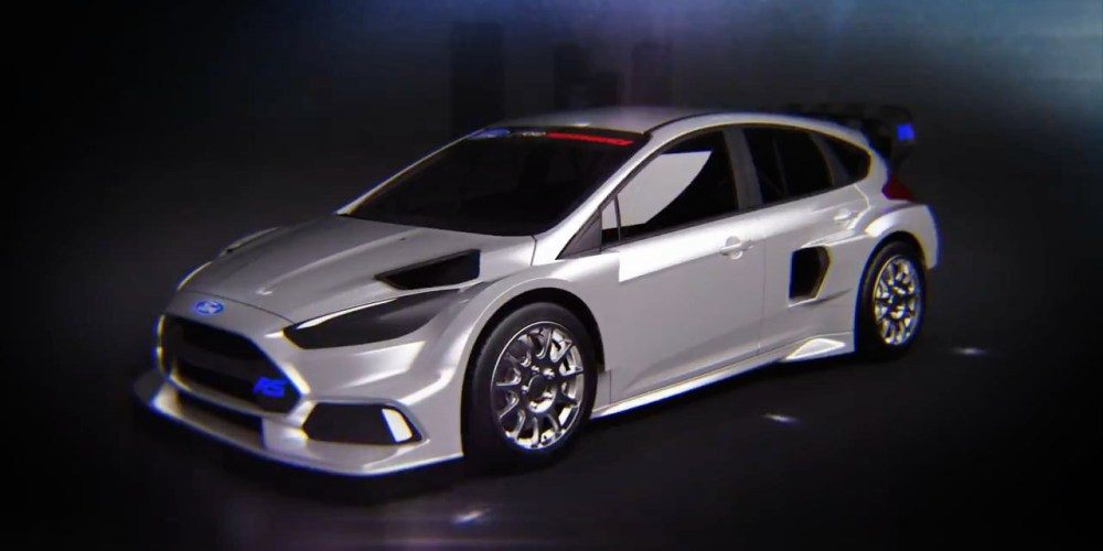 Ken Block se sube a Ford Focus…