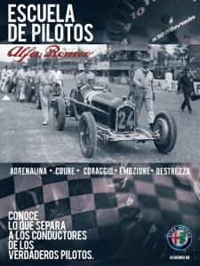Escuela Pilotos Alfa Romeo POST
