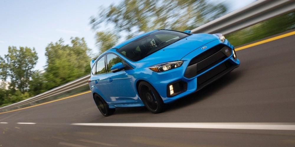 Podría haber una versión más potente de Ford Focus RS