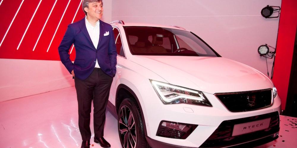 Luca de Meo,  CEO SEAT