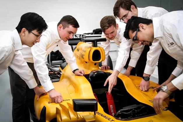 ¿Eres ingeniero y quieres trabajar en la F1? Infiniti Engineering Academy te interesa