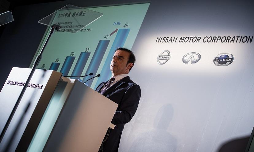 Nissan reporta utilidad neta por 4,400 millones de dólares