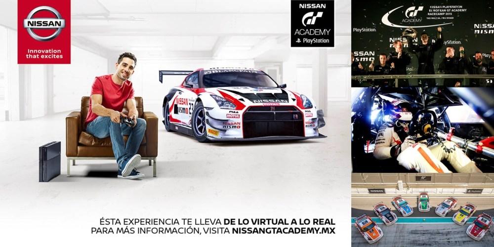 Nissan anuncia el arranque de la 3a edición de su exitoso programa GT-Academy en México