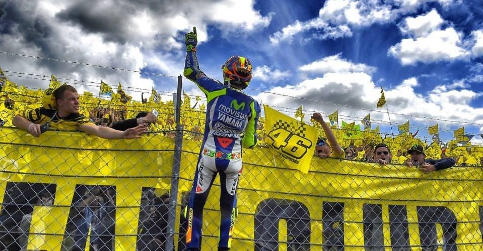 Las siete victorias de MotoGP a cargo de Rossi en Assen