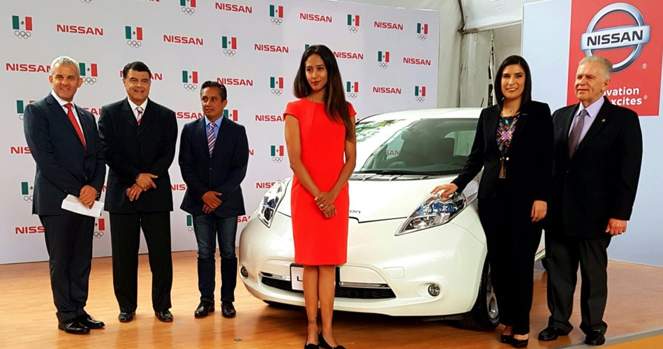 Nissan en apoyo al deporte olímpico