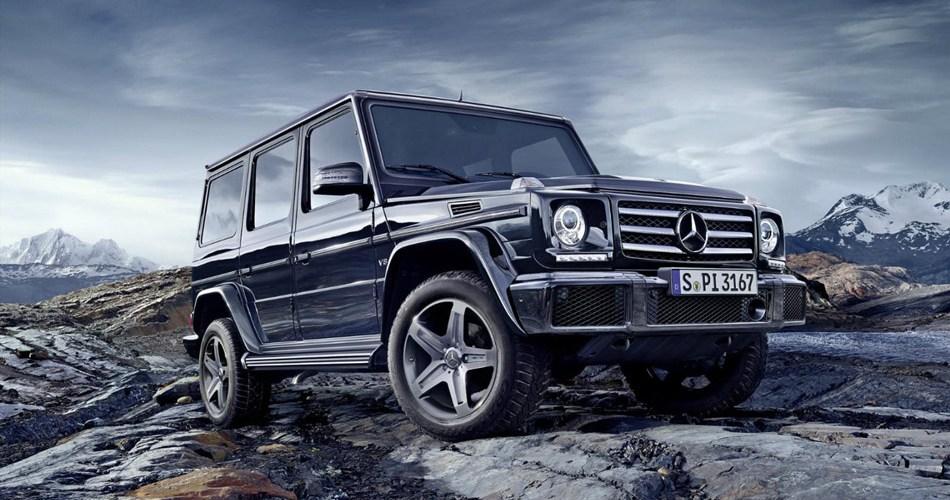¡Descubierta! La nueva Clase G de Mercedes-Benz…