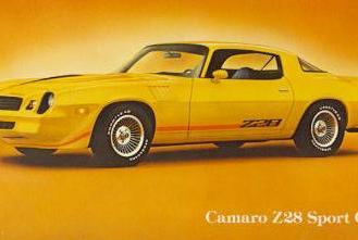 Camaro 2nd generation