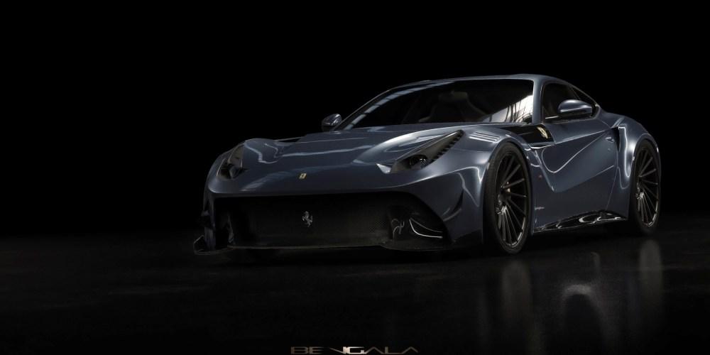 Un Ferrari con acento español: Bengala F12 Caballería