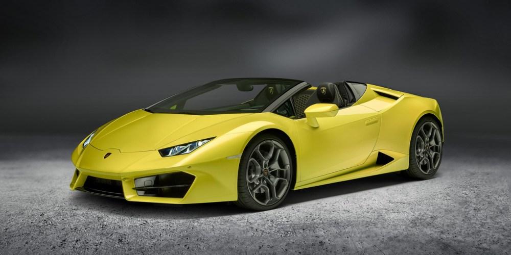 Auto Show de Los Ángeles 2016: Lamborghini LP580-2 Spyder