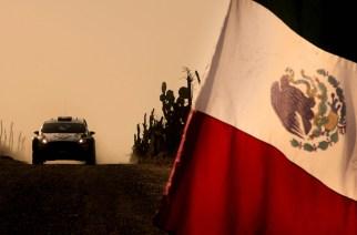 WRC en Ciudad de Mexico a lo James Bond
