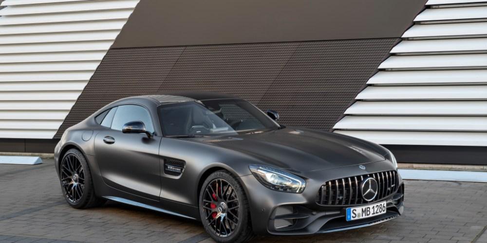 Mercedes-AMG GT C Edition 50, graphitgrau magno ;Kraftstoffverbrauch kombiniert: 11,3 l/100 km, CO2-Emissionen kombiniert: 257 g/km  Mercedes-AMG GT C Edition 50, graphite grey magno; Fuel consumption combined:  11.3 l/100 km; Combined CO2 emissions: 257 g/km