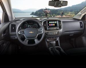 Chevrolet Colorado 2017 interior