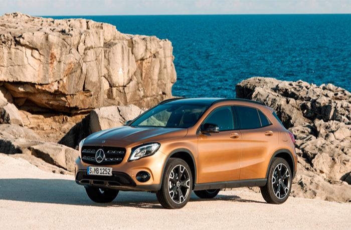 Auto Show de Detroit 2017: Mercedes-Benz GLA 250 y 250 4Matic