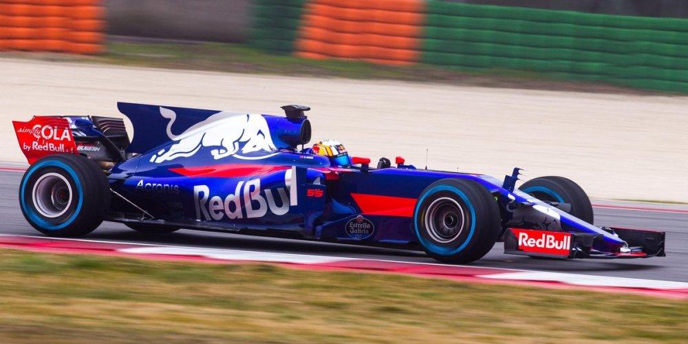 Toro Rosso STR12, en sus nuevos colores