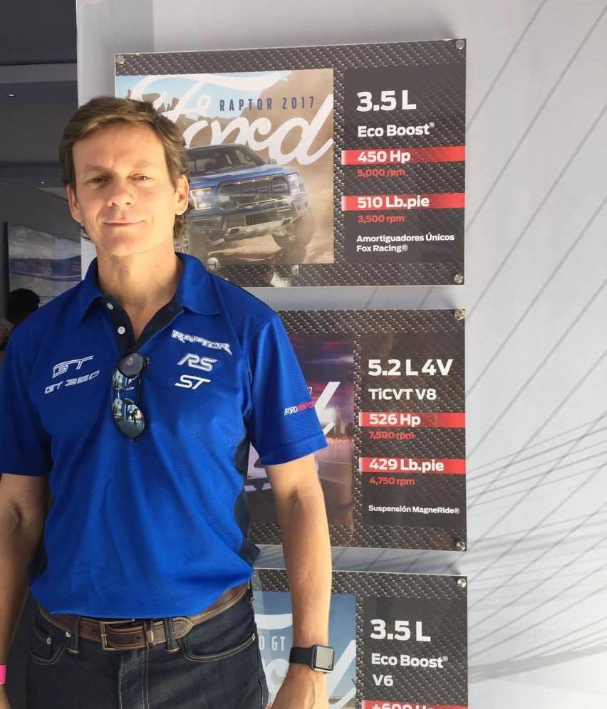Sebastián Trotta, Director de Comunicación Ford México.